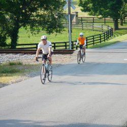 Bikers on Blue Ridge Parkway Tour