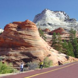rock formation in utah