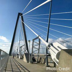 Ravenel Bridge in Charleston, South Carolina
