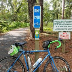 Waccamaw Neck Bikeway in Huntington Beach State Park
