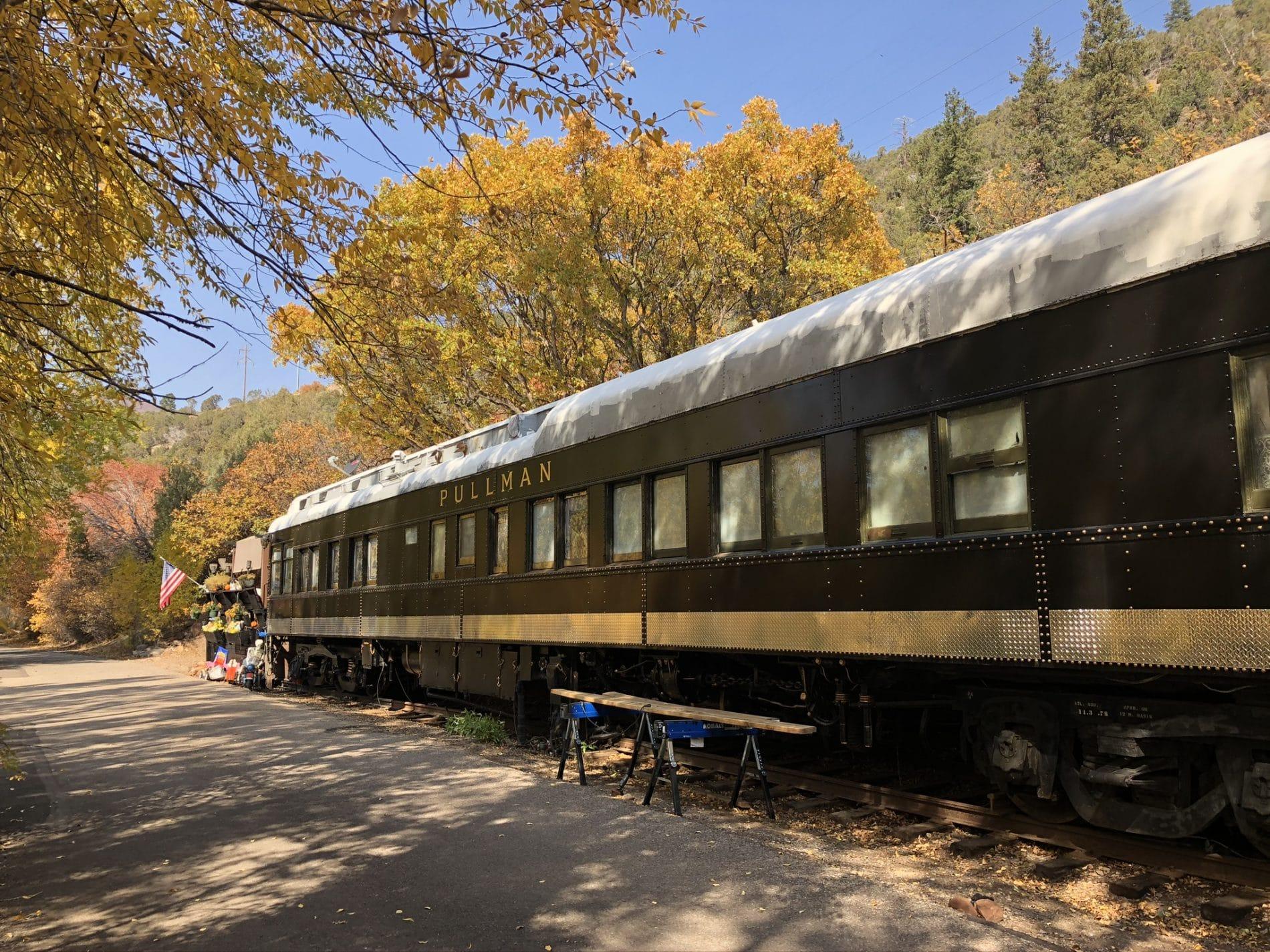Train in Aspen