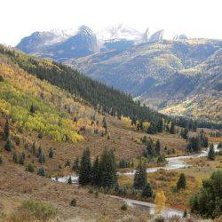 mountain road in Aspen