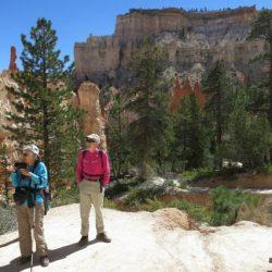 hikers in utah