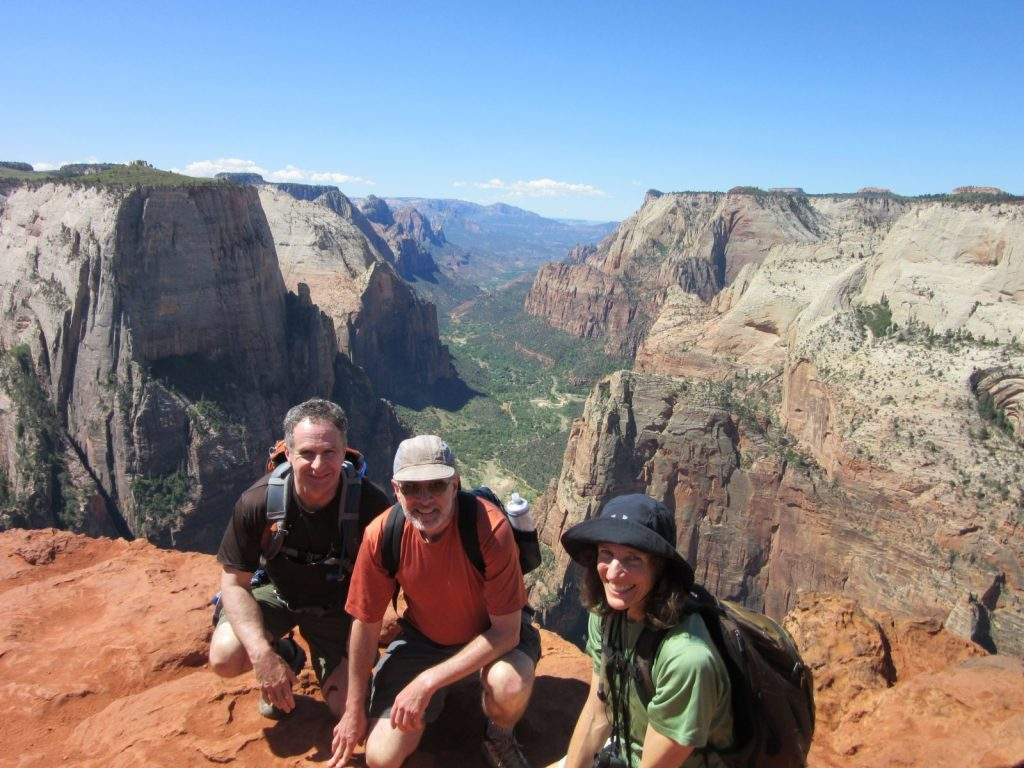Valley Overlook Trail at Zion National Park