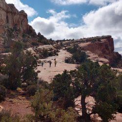 Navajo Knobs Overlook in Capitol Reef National Park