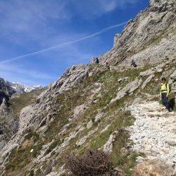 Cares Gorge in Los Picos de Europa