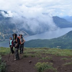 Overlooking the Columbia River Gorge in Oregon from Dog Mountain