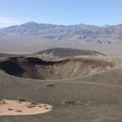 death valley crater