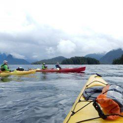 Glacier kayaking in Alaska