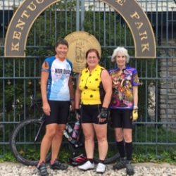 three bikers