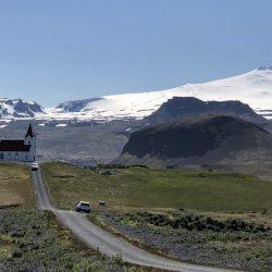 Dyjadalur Church in Iceland