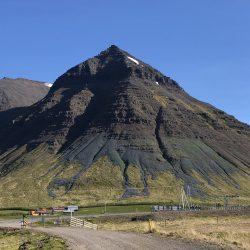 Skogarhorn Mountain in Iceland