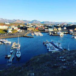 Stykkisholmur Harbor in Iceland