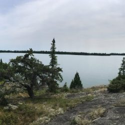 View of Lake Superior in Isle Royale National Park