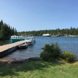 Dock on Lake Superior
