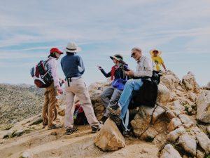 Joshua Tree Spring Hiking Tour Group