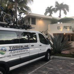 Timberline van at El Patio Motel, Key West