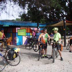 cyclists gather in key west