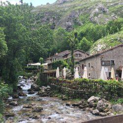 A small restaurant in the mountain village of Bulnes in el Parque Nacional de Los Picos de Europa.