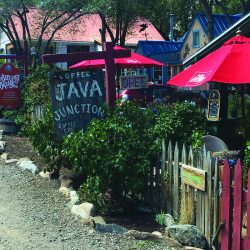 Java Junction Coffehouse sign