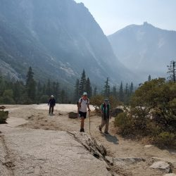 group of hikers in Kings Canyon