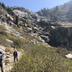 Hikers in Sequoia National Park