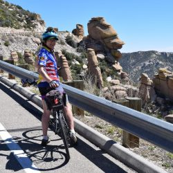 biker in Arizona
