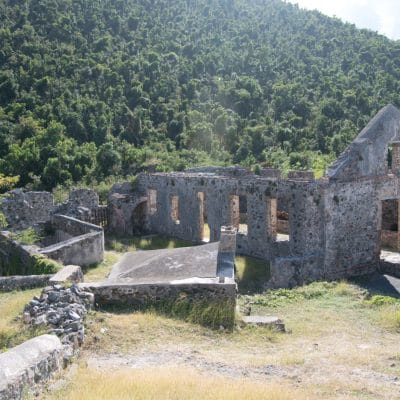 plantation ruins in virgin islands