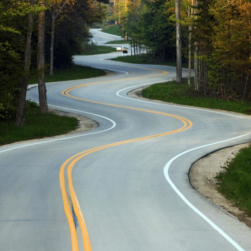 road in wisconsin door county