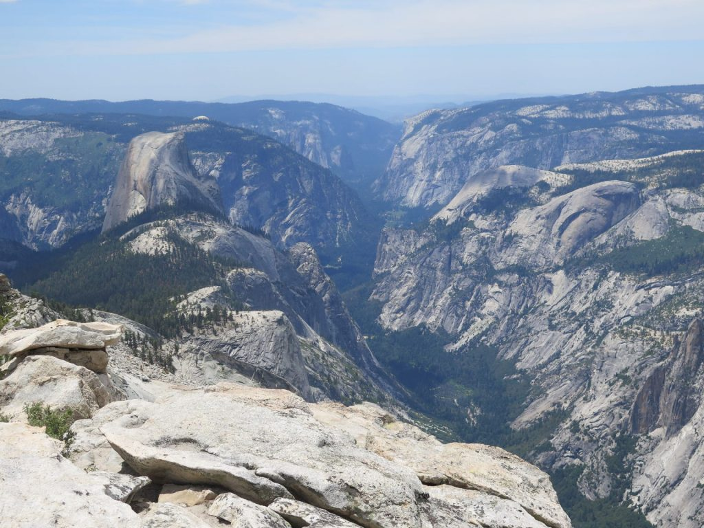 A view of the Yosemite Valley from the top of El Capitan