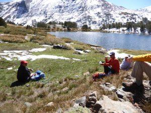 yosemite hiking mountain group