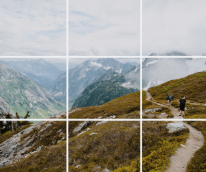rule of thirds photography example