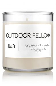 cyclist gift guide outdoor candle