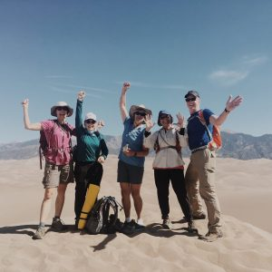 hiker gift guide great sand dunes