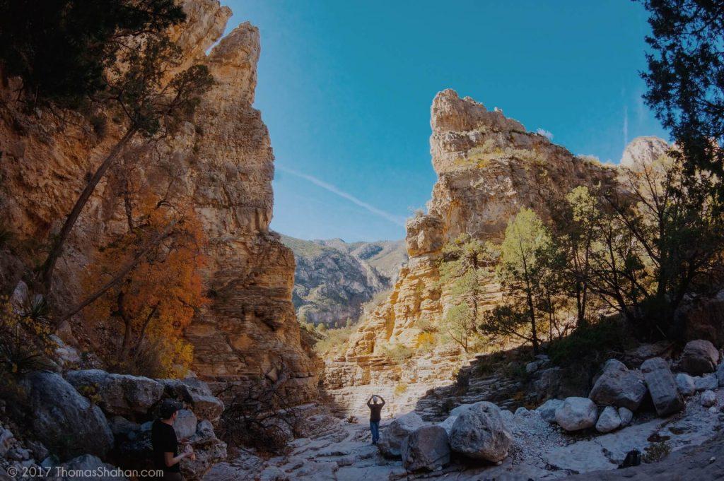 Guadalupe Mountain Landscape