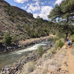Hiking the Rio Grande Rift in Recreation Area
