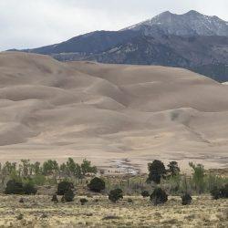 Sand dunes in Santa Fe